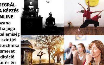 Integrál jóga képzés online – ászana, légzéstechnika, önismeret, meditáció